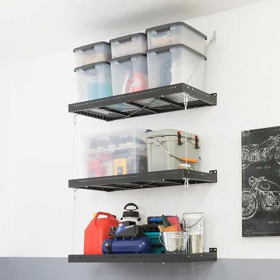Picture of 2 ft. x 4 ft. Wall Mounted Steel Shelf